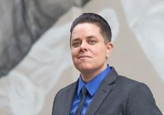 "Malachi Garza, a transgender man ""married"" to Alicia Garza.  (Getty Images)"