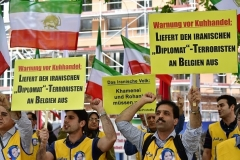 cnsnews 	 Attachments3:39 AM (1 hour ago) 	 to Susan, djoneses CAPTION: NCRI supporters demonstrate in Berlin in July 2018, calling on Germany to extradite to Belgium an Iranian diplomat accused of involvement in a bomb plot. (Photo by Tobias Schwarz/AFP via Getty Images)