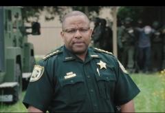 Clay County Sheriff Darryl Daniels (Screen Capture)