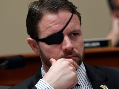 House Rep. Dan Crenshaw (R-Texas).  (Getty Images)