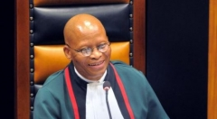 South Africa's Chief Justice Mogoeng Mogoeng. (Getty Images)