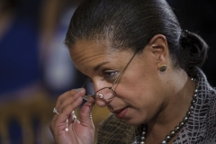Former National Security Advisor Susan Rice (Photo by BRENDAN SMIALOWSKI/AFP via Getty Images)