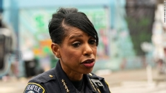 Outgoing Seattle Police Chief Carmen Best.  (Getty Images)