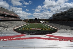 An empty University of Maryland Stadium in College Park, Maryland. (Photo by G Fiume/Maryland Terrapins/Getty Images)