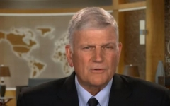 Rev. Franklin Graham.  (Screenshot, CBN News)