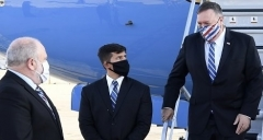 Secretary of State Mike Pompeo arrives in Israel on Monday morning. (Photo: Matty Stern/U.S. Embassy Jerusalem)