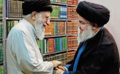 Iranian supreme leader Ayatollah Ali Khamenei meets with Hezbollah leader Hassan Nasrallah. Iran created and is the main sponsor of the Lebanese Shi'ite terrorist group. (Photo: Office of the Supreme Leader, File)