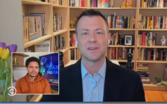 Ex-FBI Counterintelligence Agent Peter Strzok talks about his new book with Comedy Central's Trevor Noah on Sept. 10, 2020. (Photo: Screen capture)