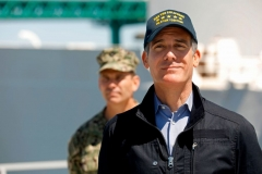 Los Angeles Mayor Eric Garcetti (Photo by CAROLYN COLE/POOL/AFP via Getty Images)