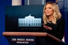 White House Press Secretary Kayleigh McEnany (Photo by JIM WATSON/AFP via Getty Images)