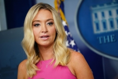 White House Press Secretary Kayleigh McEnany (Photo by MANDEL NGAN/AFP via Getty Images)