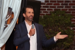Donald Trump Jr. visits The Smithville Inn for a GOP fund raiser on September 22, 2020 in Smithville, Galloway Township, New Jersey. (Photo by Donald Kravitz/WireImage)
