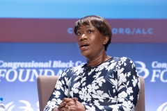Joy Reid attends the National Town Hall on the second day of the 48th Annual Congressional Black Caucus Foundation on Sept. 13, 2018 in Washington, D.C. (Photo credit: Earl Gibson III/Getty Images)