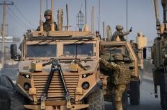 U.S. soldiers on patrol in Afghanistan (File Photo by WAKIL KOHSAR/AFP via Getty Images)