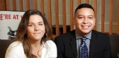 Daily Caller reporters Shelby Talcott and Jorge Ventura.  (Getty Images)
