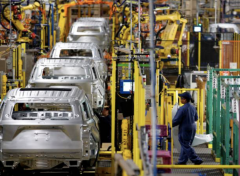 Ford's Assembly Plant in Chicago, June 24, 2019. (Photo by Jim Young/AFP via Getty Images)