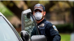 A Virginia police officer. (Getty Images)