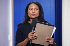 NBC White House correspondent Kristen Welker (Photo by MANDEL NGAN/AFP via Getty Images)