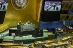 The U.N. General Assembly holds an election on Tuesday for 15 members of the Human Rights Council. (UN Photo/Loey Felipe)