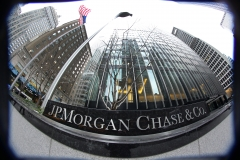 Featured is the JP Morgan Chase & Co. headquarters, The JP Morgan Chase Tower in Park Avenue, Midtown, Manhattan, New York. (Photo credit: Tim Clayton/Corbis via Getty Images)