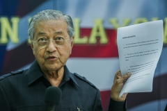 Malaysia's former prime minister, Mahatir Mohamad. (Getty Images)