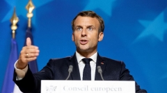 French President Emmanuel Macron.  (Getty Images)