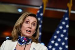 Speaker of the House Nancy Pelosi (D-Calif.) (Photo by NICHOLAS KAMM/AFP via Getty Images)
