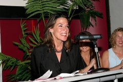 "Katherine Harris during Right Now! Hosts a ""Salute to W Stands for Women"" at Pressure in New York, New York, United States. (Photo by M. Von Holden/FilmMagic)"