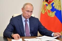 Russian President Vladimir Putin. (Photo by Alexei Druzhinin/Sputnik/AFP via Getty Images)