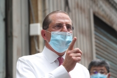 Secretary of Health and Human Services Alex Azar (Photo by PEI CHEN/POOL/AFP via Getty Images)