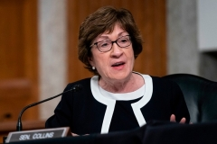 Senator Susan Collins (R-Maine) will have more influence in a closely divided Senate. (Photo by ALEX EDELMAN/POOL/AFP via Getty Images)