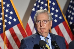 Senate Majority Leader Mitch McConnell (R-Ky.)  (Photo by MANDEL NGAN/AFP via Getty Images)