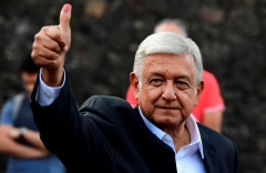 Andres Manuel Lopez Obrador, the president of Mexico.  (Getty Images)