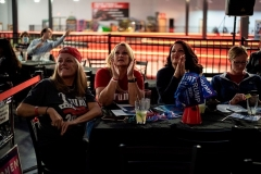 Trump supporters in Austin, Texas cheer as results come in on Tuesday night. (Photo by Sergio Flores/AFP via Getty Images)