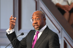 Democrat Raphael Warnock, a U.S. Senate candidate from Georgia. (Getty Images)