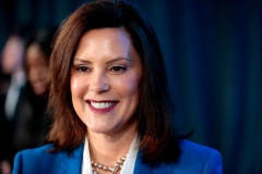 Michigan Gov. Gretchen Whitmer (D) (Photo by JEFF KOWALSKY/AFP via Getty Images)