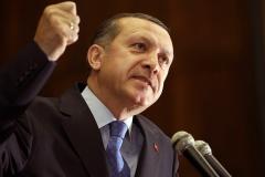 Turkish President Recep Tayyip Erdogan.  (Photo by STR/AFP via Getty Images)