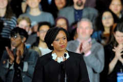 Rep. Ayanna Pressley (D-Mass.) (Photo by JOSEPH PREZIOSO/AFP via Getty Images)