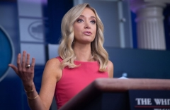 White House Press Secretary Kayleigh McEnany holds a press briefing at the White House in Washington, DC, June 8, 2020. (Photo by SAUL LOEB/AFP via Getty Images)