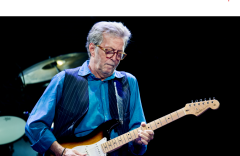 Musician Eric Clapton.  (Getty Images)