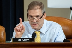 Rep. Jim Jordan (R-Ohio) is ranking member of the House Oversight and Government Reform Committee and also sits on the House Judiciary Committee. (Photo by SAUL LOEB/POOL/AFP via Getty Images)
