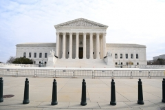 The US Supreme Court is seen in Washington, D.C., on December 7, 2020. (Photo by MANDEL NGAN/AFP via Getty Images)