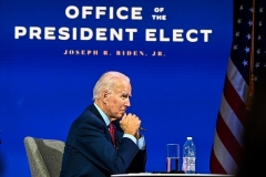 President-elect Joe Biden has pledged to return to the Obama-era nuclear deal, if Iran complies.  (Photo by Chandan Khanna/AFP via Getty Images)