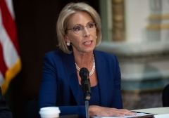 Education Secretary Betsy DeVos (Photo by SAUL LOEB/AFP via Getty Images)