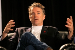 U.S. Senator Rand Paul speaks onstage at 'A Conversation With Senator Rand Paul' during the 2015 SXSW Music, Film + Interactive Festival at JW Marriott on March 15, 2015 in Austin, Texas. (Photo by Gerry Hanan/Getty Images for SXSW)