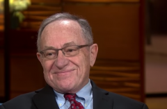 Constitutional scholar Alan Dershowitz.  (Screenshot, FNC)