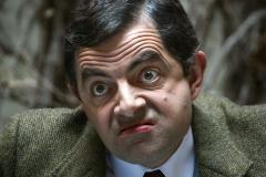 "Actor Rowan Atkinson as ""Mr. Bean.""  Getty Images)"