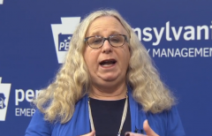Pennsylvania Health Secretary Rachel Levine (Screenshot)