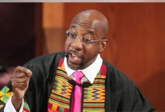 Sen.-elect Raphael Warnock (Photo by Curtis Compton-Pool/Getty Images)