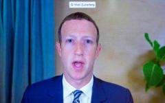 Facebook CEO Mark Zuckerberg.  (Getty Images)